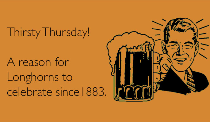Join Our First Thirsty Thursday of 2016