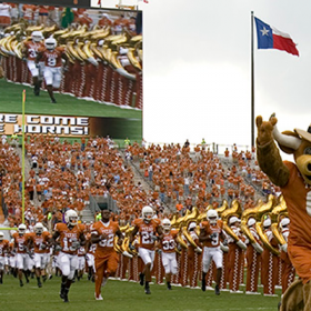 Texas vs North Texas Game Watch Party