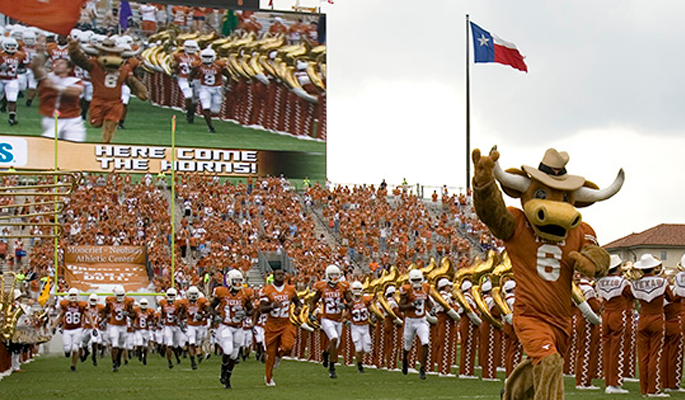 Texas vs. TCU Game Watch